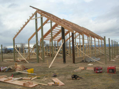 Framing Pole Building Gallery